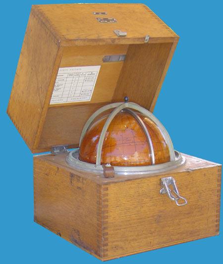 Sextant navigation globe étoile
